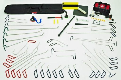 инструменты для удаления вмятин без покраски